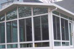 Exterior of the  Sun room- East Handover, NJ- Lifetime Alluminum
