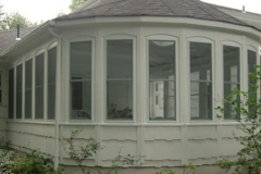 Exterior of the 3 Seasons  Sun room- East Handover, NJ- Lifetime Alluminum