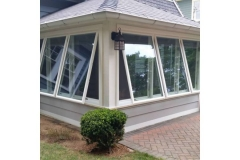 Porch awning- East Handover, NJ- Lifetime Alluminum