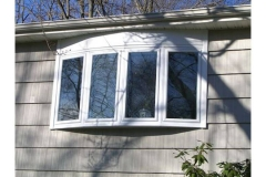 Bow window exterior- East Handover, NJ- Lifetime Alluminum