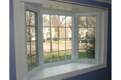 White bay window - East Handover, NJ- Lifetime Alluminum