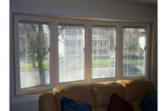 Bow window in family room- East Handover, NJ- Lifetime Alluminum
