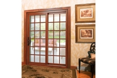 Wood patio doors- East Handover, NJ- Lifetime Alluminum