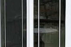 Exterior view of sliding patio door- East Handover, NJ- Lifetime Alluminum