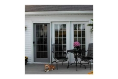 Dog on patio- East Handover, NJ- Lifetime Alluminum