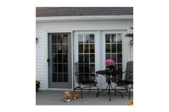 Dog on patio- East Handover, NJ- Lifetime Alluminum