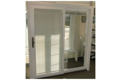 Patio doors with blinds- East Handover, NJ- Lifetime Alluminum