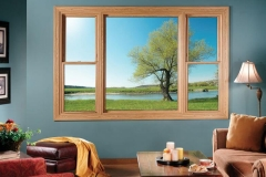 Interior View of Picture Windows - Easy Hanover, NJ - Lifetime Aluminum