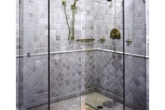 Tiled Bathroom Enclosures in East Hanover NJ - Lifetime Aluminum