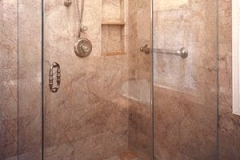 Tiled Shower Installation in East Hanover NJ - Lifetime Aluminum